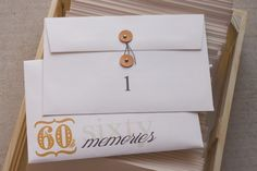 Pigskins & Pigtails » Blog Archive » Dad's 60th Birthday Party { 60 Memories }