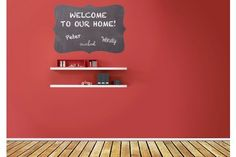 Large Adhesive Wall Chalkboards