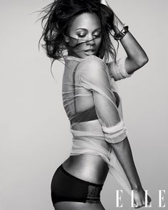 don't know why, i've seen her in like two movies, but ZOE SALDANA is so hot