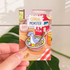 Blue Charm, Kawaii, Cool Pins, Cutest Thing Ever, Pin And Patches, Cereal Bowls, Cute Jewelry, Pin Collection, Plushies