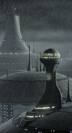 Kamino. Home world of some of the coolest aliens in the galaxy. *galaxy eyes*