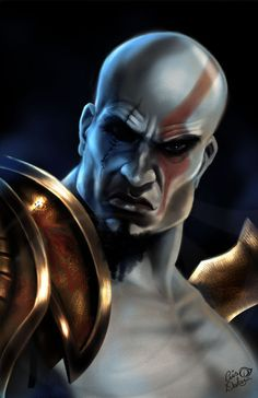 Kratos - God of War - Cris Delara