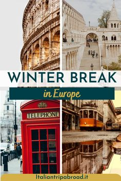 Planning a trip in winter? Check out those 15 winter trips in Europe in winter! Experience the best Christmas markets, fairy lights, snow fall, hot chocolate in a cosy chalet in Europe! Europe in winter is unique and some places are gorgeous! Travel to Prague, London, Budapest in winter for a magical atmosphere. See the Northern Lights and many more attractions in winter in Europe. #Winter #Europe #Christmas #wintertrip #northernligths Best Cities In Europe, Europe Europe, Places In Europe, Europe Travel Tips, Best Places To Travel, Travel Abroad, Travel Usa, Travel Destinations, Winter Destinations