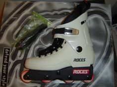 Roces Majectic 12 Originals White - my favourite skates ever released