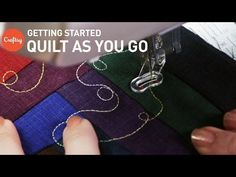 Quilt as You Go (QAYG): Tips for Getting Started | Quilting Tutorial - YouTube
