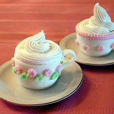 See the Grand-Prize Winner: Teacup Cupcakes in our Cutest Cupcakes 2008 gallery