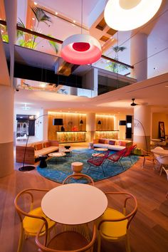 QT Gold Coast Hotel, Australia designed by Nicholas Graham & Associates (G+A)