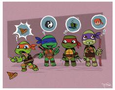 "Raph is just like ""Leo shut up"" Ninja Turtles Art, Teenage Mutant Ninja Turtles, Ninja Turtle Tattoos, Turtle Tots, Tmnt 2012, Cartoon Shows, Michelangelo, Anime, Nerdy"