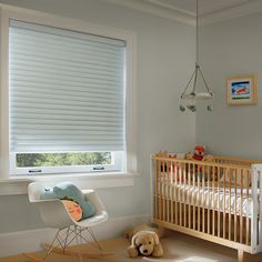 The soft, structured shape of Sonnette™ shades creates a stylish, clean aesthetic in both form and function. cord-free for safety. Roller Shades, Roller Blinds, Hunter Douglas Blinds, Custom Window Treatments, Shades Blinds, Window Styles, Window Coverings, Kids Rooms, Cribs