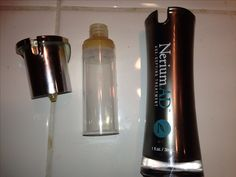 How to save / remove the last of your Nerium AD lotion: slam the top of the bottle, it will dislodge from the tube. Once open, the lid will unscrew and you can get almost another weeks worth of product out. Good to know for $100 lotion!!