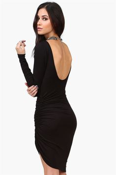 Step 1: work out to have a body for this dress. Step 2: buy this dress and look fabulous;)