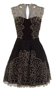 Baroque inspired dress