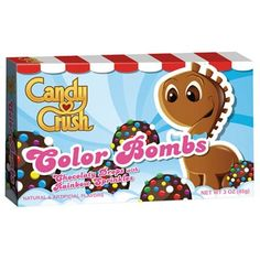 CANDY CRUSH COLOR BOMBS BOX
