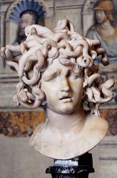Gian Lorenzo Bernini: Testa di Medusa (Head of Medusa), 1630.