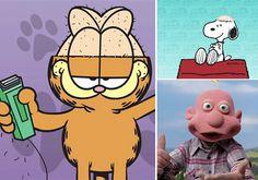 Personagens de desenhos animados ficam carecas para apoiar crianças com câncer