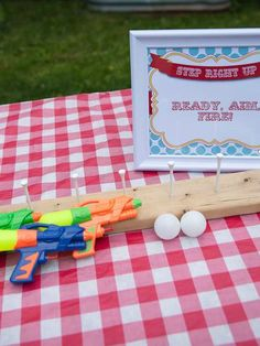 Carnival Birthday Party games!  See more party planning ideas at CatchMyParty.com!