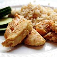 Slow Cooker Honey Ginger Chicken Thighs