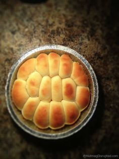 Perishke fresh from the oven.
