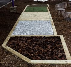 Robert and his helpers built a sensory path at a school for students with autism and motoric difficulties. Find more great projects in the Eagle Scout Project Showcase.