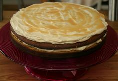 - Karamellkake -  Butterscotch Cake