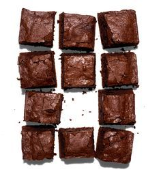 "From Bon Appetit magazine, ""The best and easiest brownies you'll ever make."" Cocoa Brownies"