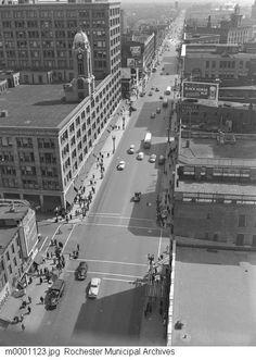 Main Street, Rochester NY 1948