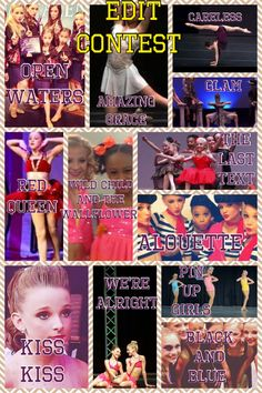 Hi guys! Edit contest. Winner gets a shoutout and an edit of their chose. Pick one of the dances listed above. You can pick up to 3 dances! You can comment what your doing if you want. Make sure you follow me so I can invite you to a board. Edits are due the 15th! -Alyssa R.