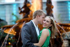 Real Engagement: Liz + Brad in Cincinnati - Modernly Wed
