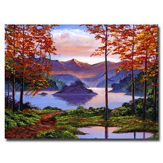 David Lloyd Glover 'Sunset Reverie' Canvas Art | Overstock.com
