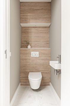 Small Toilet Decor, Small Toilet Design, Small Toilet Room, Small Bathroom, Modern Toilet Design, Bathroom Design Luxury, Modern Bathroom Design, Ideas Baños, Wc Design