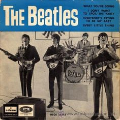 """karinabeat: The Beatles: """"A Hard Day's Night"""" Beatles Singles, The Beatles 1, Beatles Album Covers, Music Covers, Punk Poster, Number One Hits, Music Genius, Rock And Roll Bands, Pop Rock"""