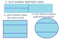 How To Make A Round Tablecloth   Made By Haley