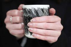 dots naildesign minimlistic nailpolish marimekko mug