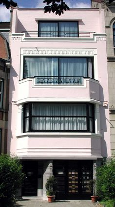 Image detail for -... maison Art-Déco construite en 1935 par l'architecte belge G. Bossuyt