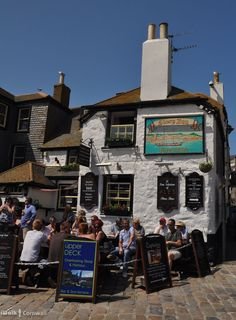 Sloop Inn in St Ives - Cornwall, England St Ives Cornwall, Devon And Cornwall, British Pub, British Isles, Yorkshire England, Yorkshire Dales, St Just, Old Pub, England And Scotland