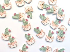 Chętnie udostępniam ten artykuł z mojego sklepu #etsy: Cactus button, suculent button, boho button, cacti button, scrapbooking button, wooden button, kawaii button, fox button #supplies #scrapbooking #scrapbookingbutton Kawaii, Buttons, Group, Boho, Business, Etsy, Accessories, Vintage, Kawaii Cute