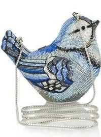 Blue Bird Bag by Judith Leiber