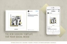 Chic Social Media Pack  by DESIGN HQ on @creativemarket