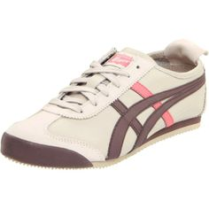 Onitsuka Tiger Women's Mexico 66 Sneaker ($44) found on Polyvore
