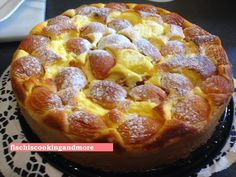 fischis cooking and more: wachauer marillen - topfenkuchen recipes dessert recipes dessert brunch recipes dessert cake recipes dessert easy recipes dessert kids recipes dessert video Dessert Simple, Bon Dessert, Donut Recipes, Cake Recipes, Dessert Recipes, Cooking Recipes, Desserts Français, French Desserts, French Recipes