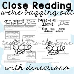 Bugging Out Close Reading