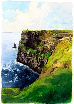 great itenerary -Luxury travel guide for Dublin and County Clare, featuring hotel, nightlife, restaurant, sightseeing and tour recommendations including Trinity College, Guiness Storehouse, and the Cliffs of Moher.