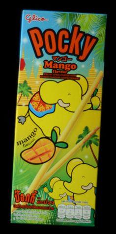 """Pocky """"Mango flavour"""""""