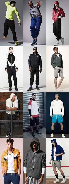 Mens Modern Workout Lookbook