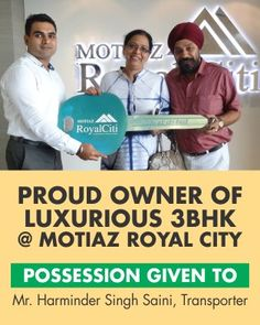 #MotiazRoyalCiti: Possession Update #3BHKFlatsinZirakpur with Harminder Singh Saini https://t.co/u70ifvkob1