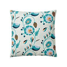 Tortuga Pillow Cover – Teal | Serena & Lily