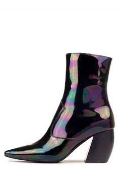 Jeffrey Campbell Shoes DRESDEN New Arrivals in Black Iridescent