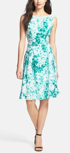 Add a pop of color at the next BBQ with this floral dress