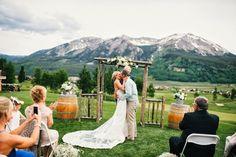 megan daas photography: Nick + Rebekah   Crested Butte Wedding