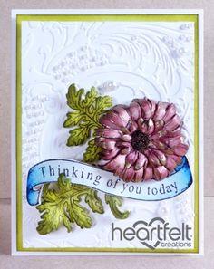 Heartfelt Creations | Thinking Of You Golden Mum